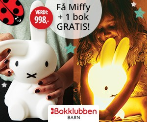 Miffy First Light i velkomstgave!
