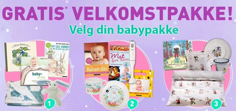 gratis pakker til baby